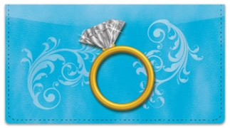 Click on Ring Bling Checkbook Cover For More Details