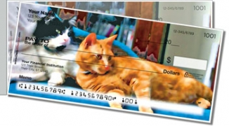 Click on Cat Nap Side Tear Personal Checks For More Details