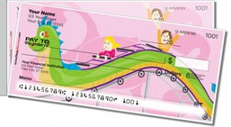 Click on Amusement Park Ride Side Tear Personal Checks For More Details
