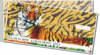 Click on Tiger Side Tear Personal Checks For More Details
