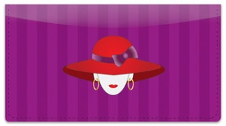 Click on Red Hat Checkbook Cover For More Details
