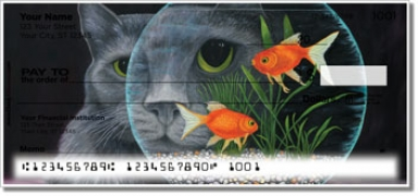 Click on Contemplating Cats 1 Personal Checks For More Details