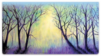 Click on Misty Tree Checkbook Cover For More Details