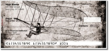 Click on Vintage Plane Personal Checks For More Details