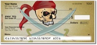 Click on Pirate Personal Checks For More Details