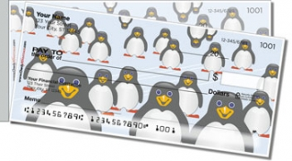 Click on Cute Penguin Side Tear Personal Checks For More Details