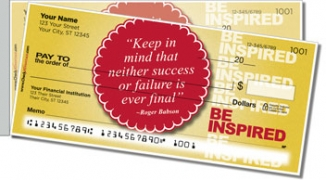 Click on Be Inspired Side Tear Personal Checks For More Details