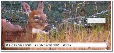 Click on Watercolor Deer Personal Checks For More Details