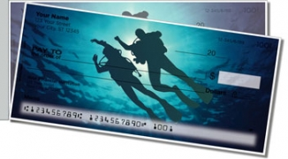 Click on Scuba Diving Side Tear Personal Checks For More Details