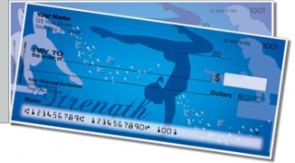 Click on Gymnastics Side Tear Personal Checks For More Details