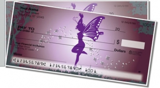 Click on Fantasy Fairy Side Tear Personal Checks For More Details