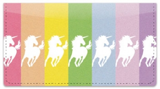 Click on Proud Unicorn Checkbook Cover For More Details