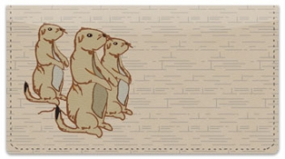 Click on Prairie Dog Checkbook Cover For More Details