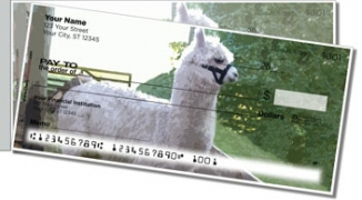 Click on Llama & Alpaca Side Tear Personal Checks For More Details