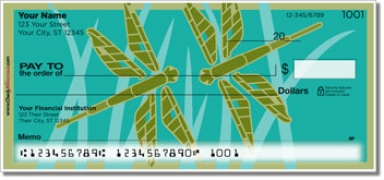 Click on Lindgren Dragonfly Personal Checks For More Details