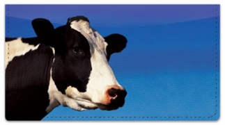 Click on Dairy Cow Checkbook Cover For More Details