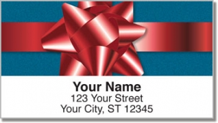 Click on Christmas Bow Address Labels For More Details