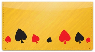Click on Playing Card Checkbook Cover For More Details