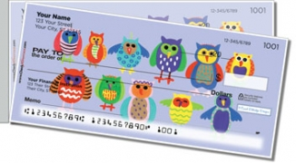 Click on Owl Together Now Side Tear Personal Checks For More Details
