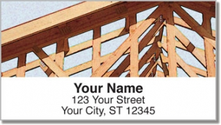 Click on Home Construction Address Labels For More Details