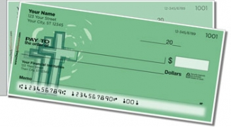Click on Cross Symbol Side Tear Personal Checks For More Details