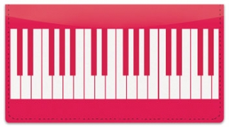 Click on Piano Keyboard Checkbook Cover For More Details