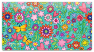 Click on Happy Thoughts Checkbook Cover For More Details