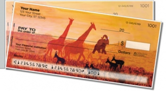 Click on Serengeti Side Tear Personal Checks For More Details