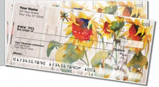Click on Country Scene Side Tear Personal Checks For More Details