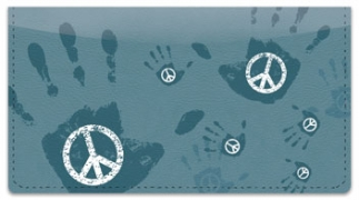 Click on Peace and Love Checkbook Cover For More Details