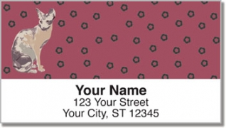 Click on Sphynx Cat Address Labels For More Details