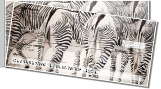 Click on Kay Smith Zebra Side Tear Personal Checks For More Details