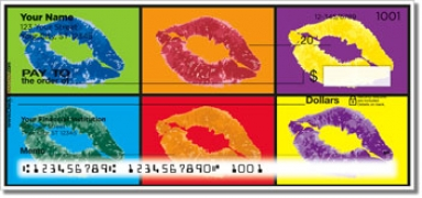 Click on Pop Art Personal Checks For More Details