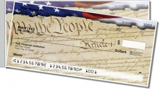 Click on Words of Freedom Side Tear Personal Checks For More Details