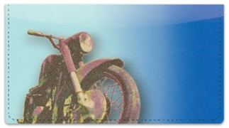 Click on Old School Motorcycle Checkbook Cover For More Details