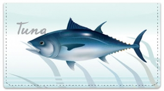 Click on Ocean Fish Checkbook Cover For More Details