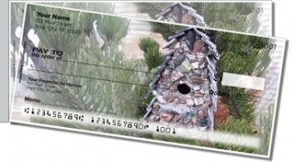 Click on Unique Birdhouse Side Tear Personal Checks For More Details