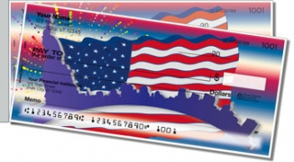 Click on Patriotic Party Side Tear Personal Checks For More Details
