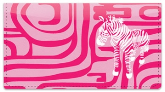 Click on Neon Animal Print Checkbook Cover For More Details