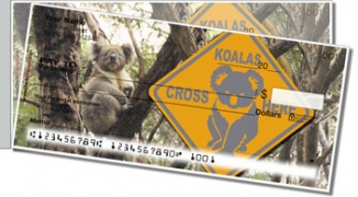 Click on Animals of Australia Side Tear Personal Checks For More Details