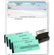 Click on Beach Scene QuickBooks and Quicken Kit For More Details