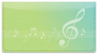 Click on Musical Note Checkbook Cover For More Details