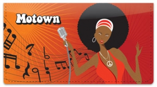 Click on Motown Checkbook Cover For More Details
