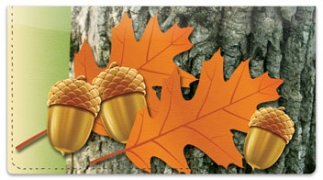 Click on Leaf Collection Checkbook Cover For More Details