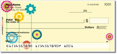 Flower Child Personal Personal Checks