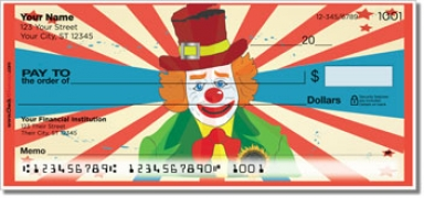 Click on Circus Act Personal Checks For More Details