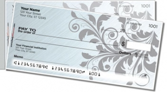 Fancy Scroll Side Tear Personal Checks