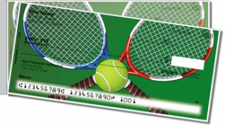 Click on Tennis Side Tear Personal Checks For More Details