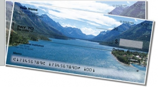 Click on Scenic Mountain Side Tear Personal Checks For More Details