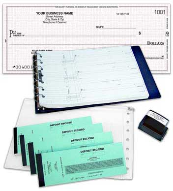 Click on Double Stub Payroll Check Kit For More Details